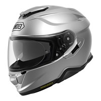Shoei GT Air 2 Plain helmet in light silver