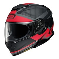 Shoei GT Air 2 Affair TC1 helmet in black / red