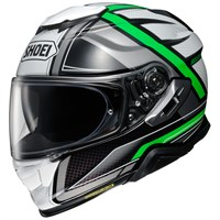 Shoei GT Air 2 Haste TC4 helmet in white/ black/ green