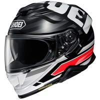 Shoei GT Air 2 Insignia TC1 helmet in white/ black/ red