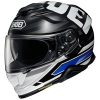 Shoei GT Air 2 Insignia TC2 helmet in white/ black/ blue