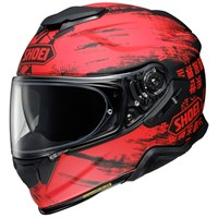 Shoei GT Air 2 Ogre TC1 helmet in red/ black