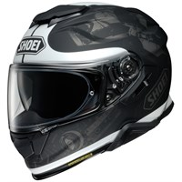 Shoei GT Air 2 Reminisce TC5 helmet in grey/ white