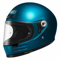 Shoei Glamster helmet in laguna blue