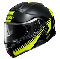 Shoei Neotec 2 Separator TC3 helmet in black / yellow