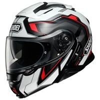 Shoei Neotec 2 Respect TC1 helmet in white / red