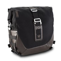 SW Motech SLC large bag 13.5L right in black / brown