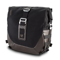 SW-Motech SLC large bag 13.5L left in black / brown