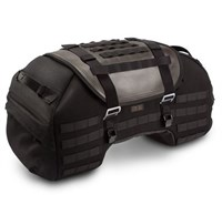 SW Motech Tail Bag 48L in black / brown