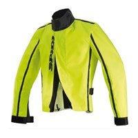 Spidi Rain Cover jacket in yellow