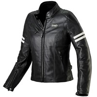 Spidi Ace ladies leather jacket in black