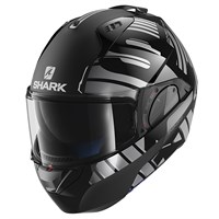 Shark Evo-One Lithion Dual helmet in black/ silver