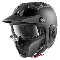 Shark X-Drak Blank helmet in matt black