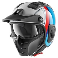 Shark X-Drak Terrence helmet in white / blue / red