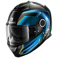 Shark Spartan Carbon Guintoli helmet in blue
