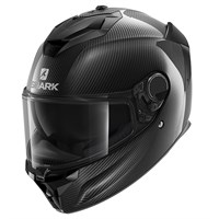 Shark Spartan GT Carbon Skin DAD helmet in black