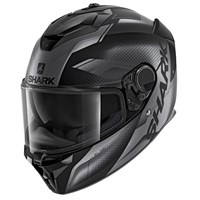 Shark Spartan GT Elgen MAT KAA helmet in grey/ black