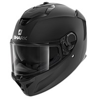 Shark Spartan GT Blank KMA helmet in matt black