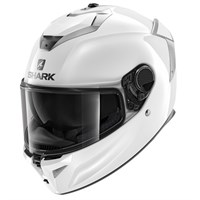 Shark Spartan GT Blank helmet in white