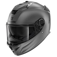 Shark Spartan GT Blank AMA helmet in matt grey
