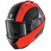 Shark Evo ES ENDLESS MAT OKK helmet in black/ red