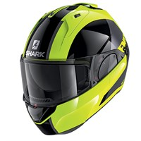 Shark Evo ES ENDLESS YKS helmet in black/ fluo
