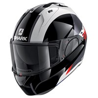 Shark Evo ES ENDLESS WKR helmet in black/ white