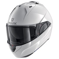 Shark Evo ES Mat WHU helmet in white