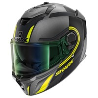 Shark Spartan GT visor in light iridium green