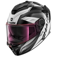 Shark Spartan GT visor in light iridium pink