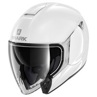 Shark Citycruiser helmet in white