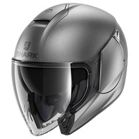 Shark Citycruiser helmet in matt anthracite