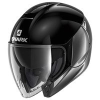 Shark Citycruiser helmet in dual black and anthracite