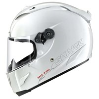 Shark Race-R Pro Blank helmet in white