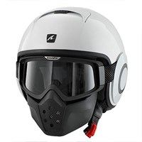 Shark Streetfighter Drak White Helmet