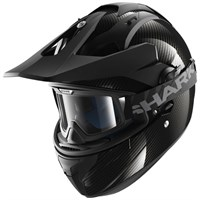 Shark Explore-R Carbon Skin Black Helmet