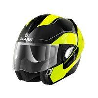 Shark Evoline Arona Hi-Vis Yellow Helmet