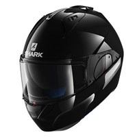 Shark Evo-One Blank helmet in gloss black