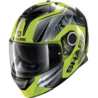 Shark Spartan Karken Black/Yellow Helmet