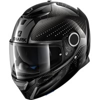 Shark Spartan Carbon Cliff Black Helmet