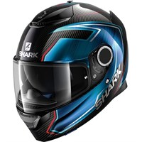 Shark Spartan Carbon Guintoli Black/Blue Helmet