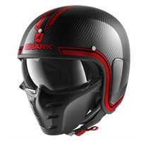 Shark S-Drak Vinta helmet in black / red