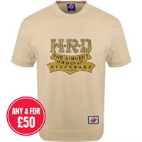 Retro Legends Classic Vincent HRD Co Ltd T-sweat in cream
