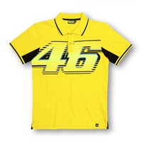 "Rossi ""46"" Polo in yellow"