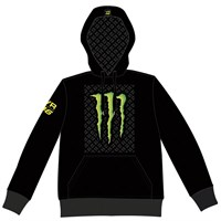 Rossi Monster Patterned hoodie - grey