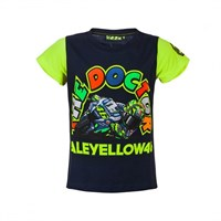 Rossi 2017 Kids Doc Bike T-Shirt Blue