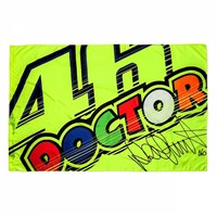 Rossi 2017 46 Doctor Flag Yellow 140X90Cm