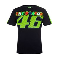 Rossi 46 Black T-Shirt