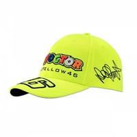 Rossi 2018 Classic The Doctor Cap Yellow