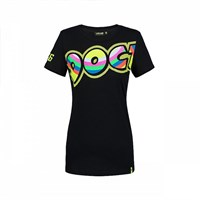 Rossi 2018 ladies The Doctor T-shirt in black